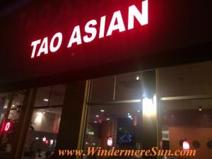 Tao Asian, a Fusion Restaurant