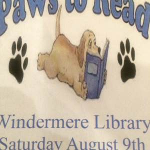 Windermere Library Paws To Read (credit: Windermere Library)