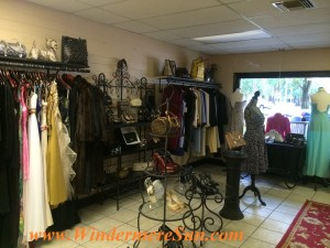 Tres Chic Designer Boutique interior at Windermere, FL ( credit: Windermere Sun-Susan Sun Nunamaker)