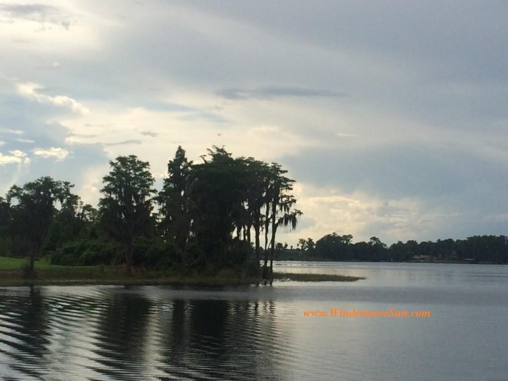 Pristine lake of Windermere, FL (credit: Windermere Sun-Susan Sun Nunamaker)