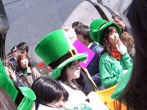 Celebration in Omotesandra, Japan