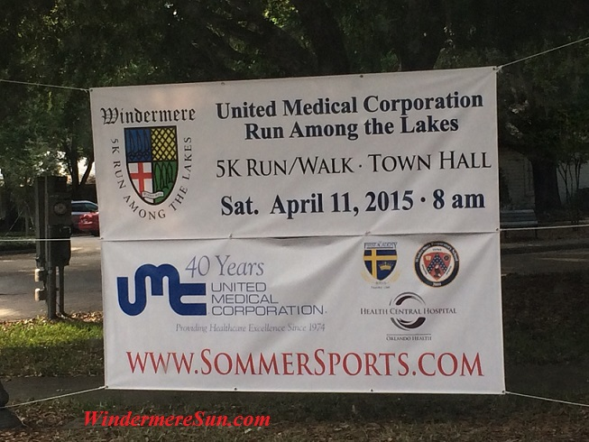 Run Among The Lakes of United Medical Corporations on Sat. April 11, 2015 at 8:00 am (credit: Windermere Sun-Susan Sun Nunamaker)