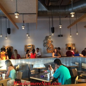 Long Lines...People Have Spoken: Food With Integrity Rocks! (Photographed by Windermere Sun-Susan Sun Nunamaker)