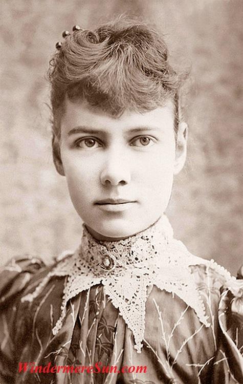 Nellie Bly, aka Elizabeth Cochrane