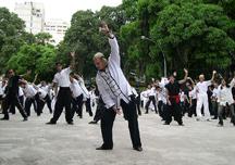 Qigong practitioners in Brazil (SOURCE: http://en.wikipedia.org/wiki/Image:BRASILRIO4.jpg)