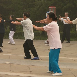 Tai Chi outdoor practice in Beijing's Temple of Heaven (CC Attrib: Craig Nagy)