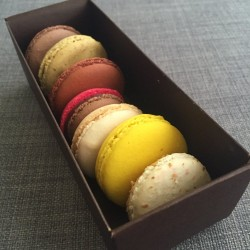 My French Cafe-delicious macaroons