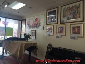 Tai Shen Book Bar piano paintings (credit: Windermere Sun-Susan SUn Nunamaker)