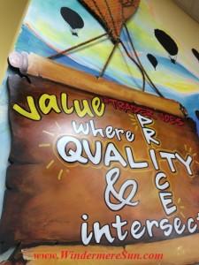 Trader Joe's Formula: Great Quality + Great Prices = Value (credit: Windermere Sun-Susan Sun Nunamaker)