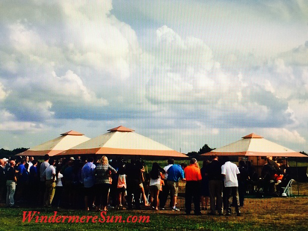 Groundbreaking Ceremony of West Orange County Relief High School on Thursday, September 24, 2015, near 5505 Winter Garden Vineland Rd., Windermere, FL 34786, 4:00 pm, a beautiful hot and sunny day (photgraphed by Windermere Sun-Susan Sun Nunamaker)