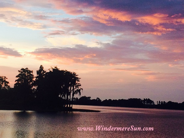Another beautiful Central Florida Sunset (credit: Windermere Sun-Susan Sun Nunamaker)