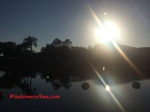 Central Florida Sunshine at Sunset (credit: Windermere Sun-Susan Sun Nunamaker)