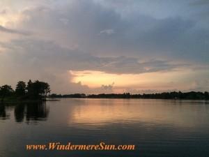 Windermere/Central Florida Calm Sunset (credit: Windermere Sun-Susan Sun Nunamaker)