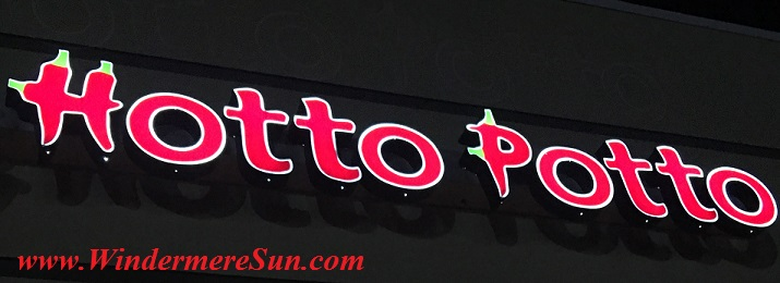 Hotto Potto word sign (credit: Windermere Sun-Susan Sun Nunamaker)