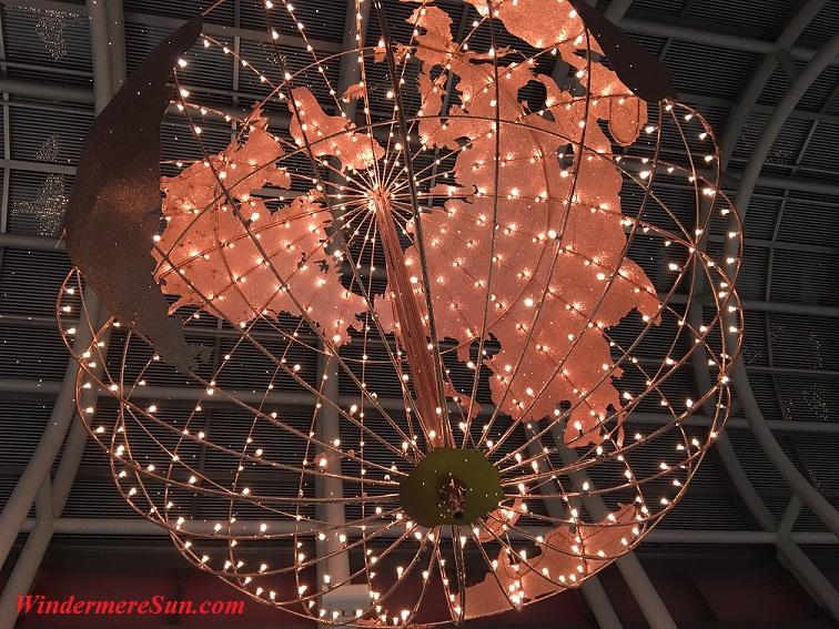 Holiday-Peace On Earth Display at O'Hare Airport (Windermere Sun-Susan Sun Nunamaker)