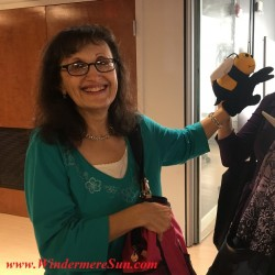 Bonnie Charyn of Bonnie's Puppet Palace at Catalyst (1 S. Orange Ave., Orlando, FL), Shared Workspace (credit: Windermere Sun-Susan Sun Nunamaker)