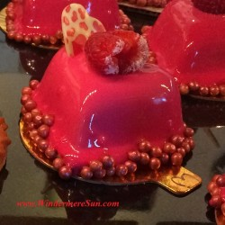 My French Cafe pastries-heart tart (credit: Windermere Sun-Susan Sun Nunamaker)
