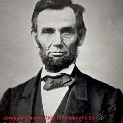 Abraham_Lincoln_November_1863, 16th US President of USA (Pub Domain in USA)