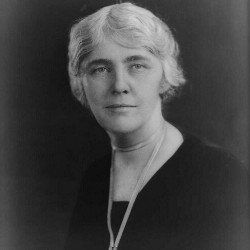Lou Henry Hoover, wife of President Herbert Hoover