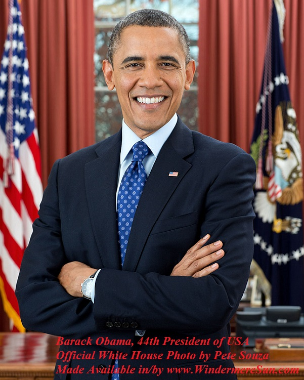 44th President of USA, Barack Obama