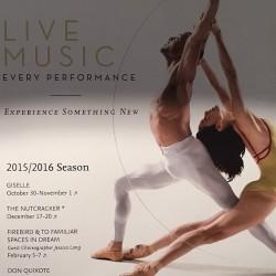 Orlando Ballet School South Campus Performance schedule poster at 7988 Via Dellagio Way, Suite 204., Orlando, FL