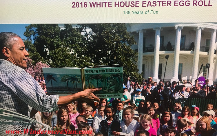 Anticipating White House Egg Roll 2016 with President Obama