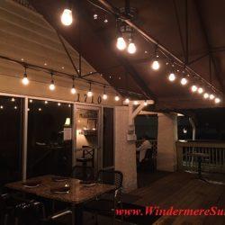 K Restaurant-exterior lighting (credit: Windermere Sun-Susan Sun Nunamaker)