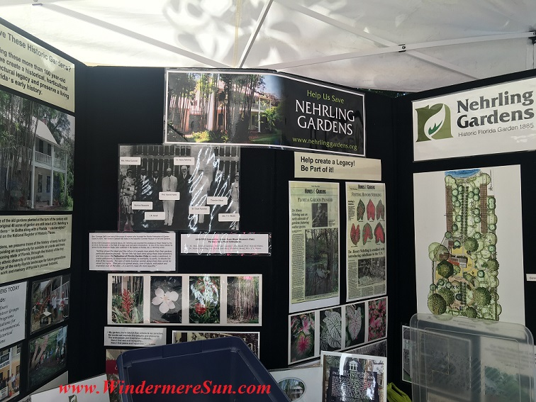 Nehrling Garden poster during 12th Annual Windermere Treebute on Jan. 16, 2016) (credit: Windermere Sun-Susan Sun Nunamaker)