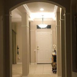 Entryway of 12907 Freeman, Windermere, FL (photo credit: Windermere Sun-Susan Sun Nunamaker)