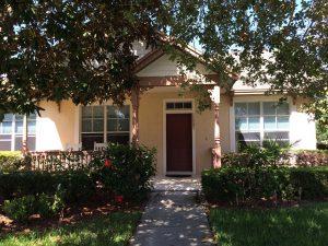 Front Door of 12907 Freeman, Windermere, FL (photo credit: Windermere Sun-Susan Sun Nunamaker)