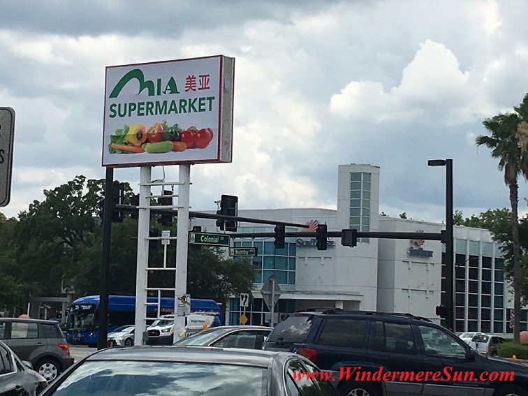 Mia Supermarket at 2415 E. Colonial Dr., Orlando, FL will soon to open in early June, 2016 (credit: Windermere Sun-Susan Sun Nunamaker)
