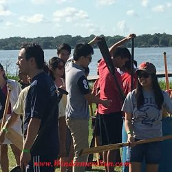 Duanwu/Dragon Boat Race Festival of June 4, 2016 at Lake Fairveiw Park of Orlando, FL (credit: Windermere Sun-Susan Sun Nunamaker)