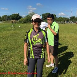 Joanna Kiang at Duanwu/Dragon Boat Race Festival of June 4, 2016 at Lake Fairveiw Park of Orlando, FL (credit: Windermere Sun-Susan Sun Nunamaker)