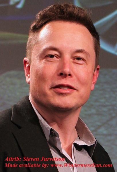 Elon_Musk_2015 CC by Steven Jurvetson