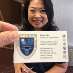 Katie Mei, Admissions Representative of FCIM (407-888-8689, Ext. 15, Kmei@fcim.edu) (credit: Windermere Sun-Susan Sun Nunamaker)