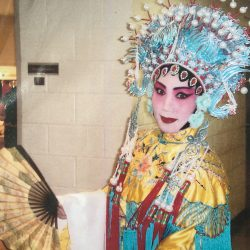 Jie Yu in elaborate Peking Opera costume