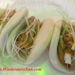 Quickly Boba & Snow- Bao or Asian soft shell taco (credit: Windermere Sun-Susan Sun Nunamaker)