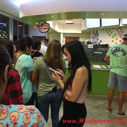 Quickly Boba & Snow- long lines (credit: Windermere Sun-Susan Sun Nunamaker)