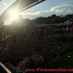 Many people got the same idea: Beautiful sunny day to visit Magic Kingdom (credit: Windermere Sun-Susan Sun Nunamaker)