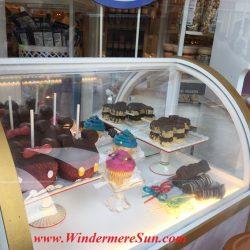 Bakery inside Magic Kingdom. Many people got the same idea: Beautiful sunny day to visit Magic Kingdom (credit: Windermere Sun-Susan Sun Nunamaker)