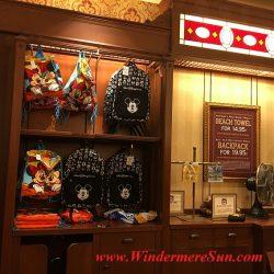 Disney-Magic Kingdom giftshop. Many people got the same idea: Beautiful sunny day to visit Magic Kingdom (credit: Windermere Sun-Susan Sun Nunamaker)