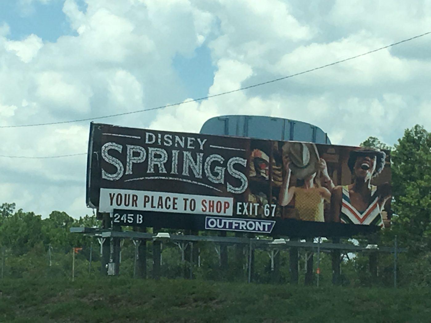 Disney Springs sign (credit: Windermere Sun-Susan Sun Nunamaker)