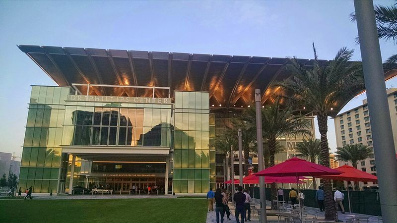 Dr. Phillips Center for the Performing Arts of Orlando, FL ( 445 S. Magnolia Ave., Orlando, FL 32801), Attribution: Elisfkc