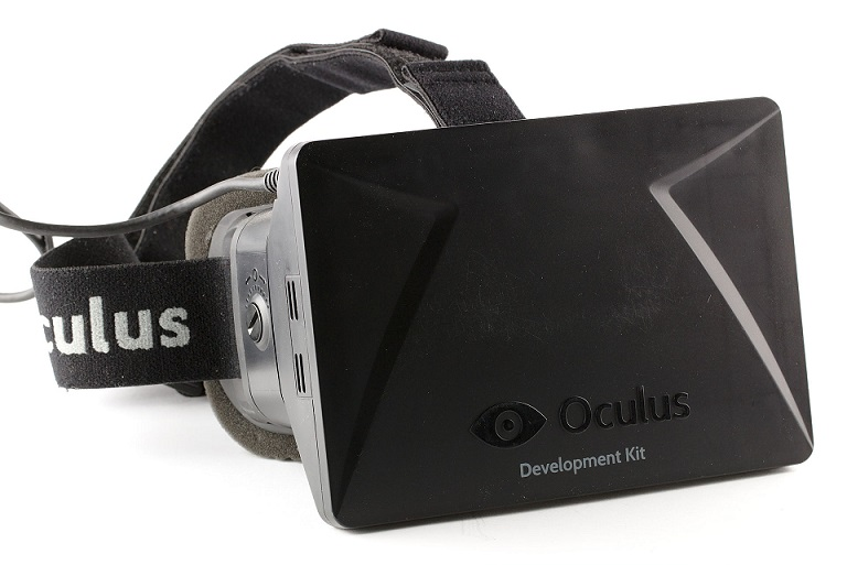 A 2013 developer version of Oculus Rift from Oculus VR, a company Facebook acquired in 2014 for $2 billion.CC (credit Sebastian Stabinger)
