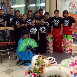 YESS activity-Young Lion Dancers