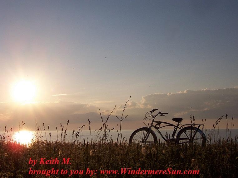bike-sunset-bike- by Keith M.
