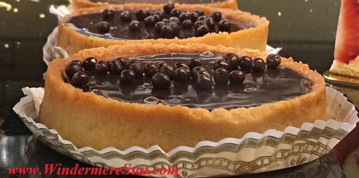 Chocolate Tarts of My French Cafe (credit: Windermere Sun-Susan Sun Nunamaker)