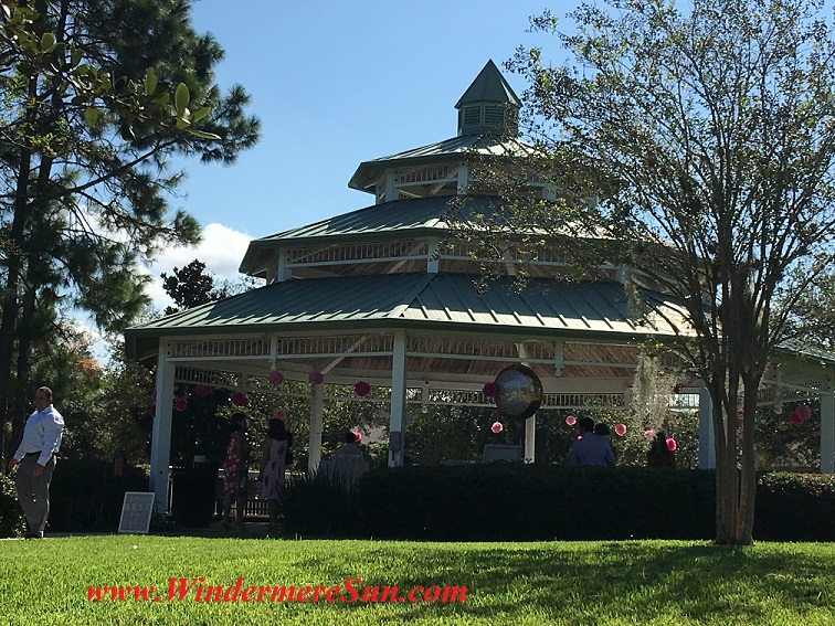 Gazebo at Gazebo Park (credit: Windermere Sun-Susan Sun Nunamaker)