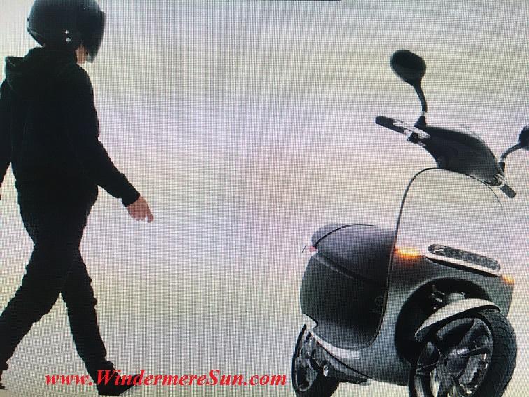 Gogoro Smartscooter (credit: Gogoro)