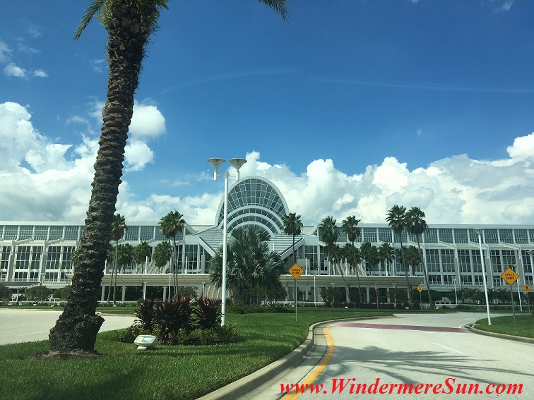 Orlando Convention Center1 (credit: Windermere Sun-Susan Sun Nunamaker)